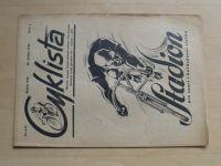 Cyklista 1-20 (1946) ročník LII. (chybí čísla 16-20, 15 čísel)