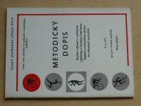 Vymazal - Metodický dopis - Rozbor výkonů v rychlostní cyklistice (1979)