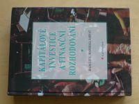 Levy, Sarnat - Kapitálové investice a finanční rozhodování (1999)