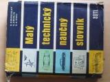Dobrovolný - Malý technický naučný slovník (1959)