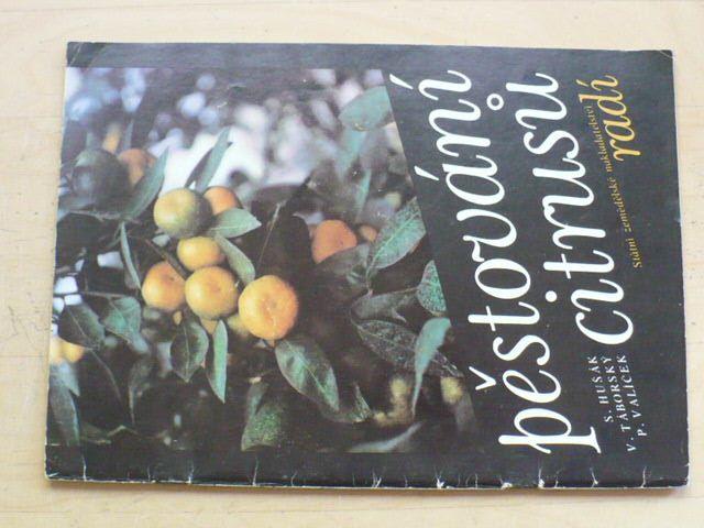 Hušák, Táborský, Valíček - Pěstování citrusů (SZN 1987)
