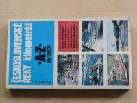Kohoutek - Československé řeky - kilometráž  - A-Z na cesty (1990)