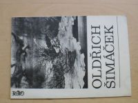 Oldřich Šimáček - Scénografie (Olomouc 1989) Katalog výstavy, podpis O. Š.