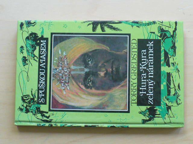 Gredsted - Hura-Kura zelený náramek S puškou a lasem (1993)