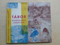 Tábor - Historické město jižních Čech (1961) Etapový výbor Závodu míru Tábor