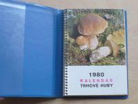 1980 Kalendár - Dermek - Trhové huby - slovensky