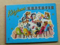 Katzchens Geburtstagsfeier - leporelo, německy, koťátka