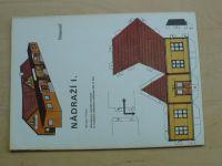 Prokop - Nádraží I. (1990)- Stavebnice nádražní budobvy k modelům železnice HO (1:87)