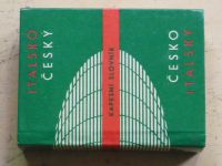 Italsko-český česko-italský kapesní slovník (1968)