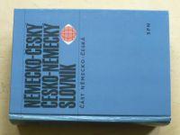Widimský - Německo-český slovník (1970) 1 kniha
