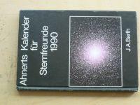 Barth - Ahnerts Kalender für Sternfreunde 1990 (německy) Astronomický kalendář