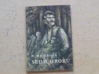 Majerová - Sedm hrobů (1956) Knihovna vojenských příběhů 49