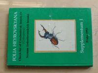 Folia Heyrovskyana - Seznam československých brouků - Supplementum 1 (1993)