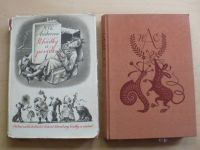 Andersen - Pohádky a povídky 1 + 2 (1956) il. Bouda, 2 knihy