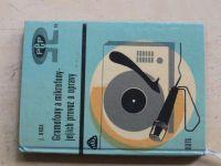 Brda - Gramofony a mikrofony - jejich provoz a opravy (SNTL 1969)