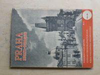 Praha - Názorný plán města, seznam všech pražských ulic (1948)