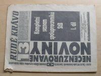 Rudé krávo 13 (1992) ročník II.