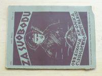 Za svobodu - Obrázková kronika Československého revolučního hnutí na Rusi 1-5 (1924)