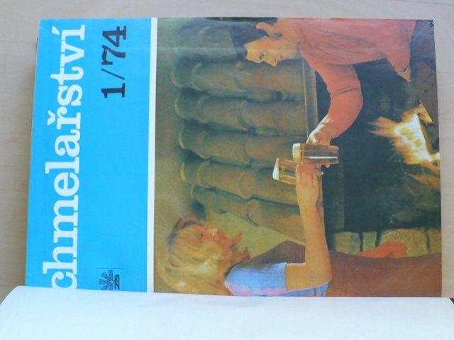 Chmelařství 1974, 1975, 1976 časopis
