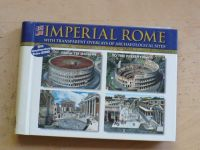 Imperial Rome with transparent overlays of archaeological sites (+ CD ROM)