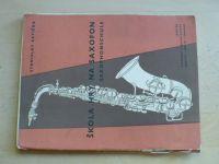 Krtička - Škola hry na saxofon - Saxophonschule (1964)