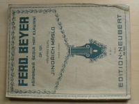 Máslo - Ferd. Beyer - Přípravná škola hry klavírní (1942)
