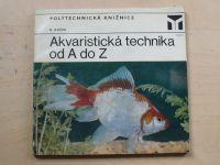 Krček - Akvaristická technika od A do Z (1976)