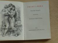 Krupička - První láska - epická báseň (1941) il. Procházka