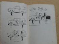 Obsluha a údržba osobního automobilu Trabant 601 (1971)