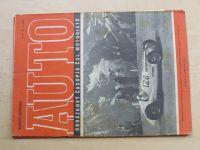 AUTO Obrázkový časopis čsl. motoristů, číslo 3/1946