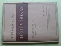 Novák - Dědův odkaz (1926)