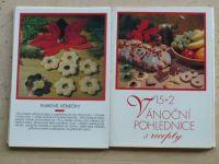15 + 2 Vánoční pohlednice s recepty