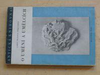 Gaius Plinius Sekundus - O umění a umělcích (1941)