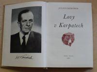 Komárek - Lovy v Karpatech (1960) il. Z. Burian