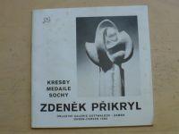 Zdeněk Přikryl - Kresby medaile sochy - duben-červen 1982