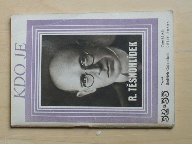 Kdo je - Rudolf Těsnohlídek (1946)