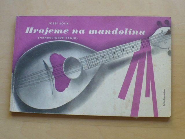 Kotík - Hrajeme na mandolinu (mandolinové banjo) (1987)