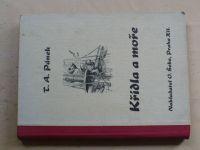 Pánek - Křídla a moře (1946) Kniha o statečných letcích a námořnících