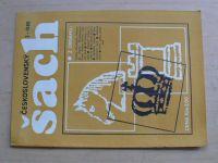 Československý šach 1-12 (1986) ročník LXXX. (chybí čísla 1-2, 4, 10-12, 6 čísel)