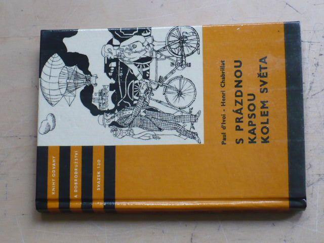 Chabrillat - S prázdnou kapsou kolem světa (1973) KOD 130