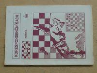 Korespondenční šach 1-6 (1992) ročník II.