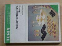 Analogové integrované obvody pro převodníky - Tesla 1987