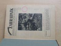 Československý zahradník 1-52 (1947) ročník II. (chybí čísla 17, 19, 50 čísel)