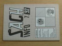 Šach info 7 (1992) ročník I.