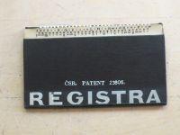 Čsr. patent 23806. Registra