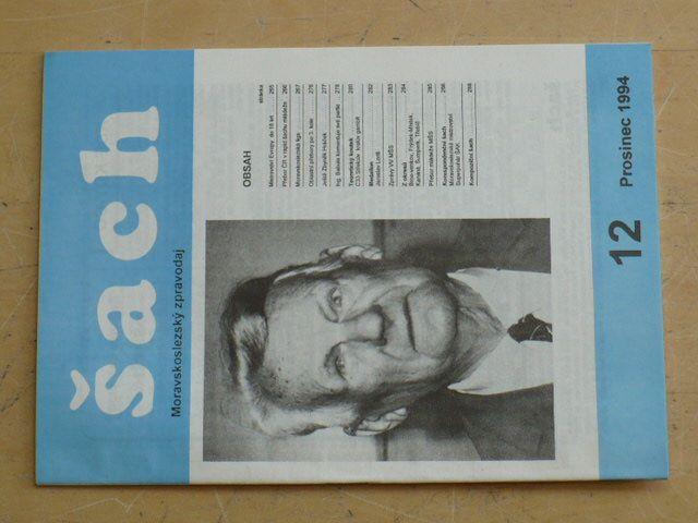 Moravskoslezský zpravodaj šach 12 (1994) ročník II.