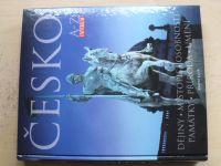 ČESKO A-Z Universum - Knižní klub (2005) Dějiny,místopis,osobnosti,památky,příroda,umění