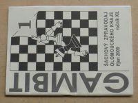 Gambit - Šachový zpravodaj Olomouckého kraje 1-6 (2009-2010) ročník XII.