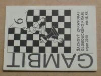 Gambit - Šachový zpravodaj Olomouckého kraje 6 (2010) ročník XII.
