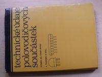 Taurek a kol. - Technické údaje polovodičových součástek (1980)